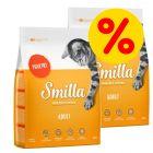 Sparepakke: Smilla kattefoder 2 x 4 kg