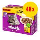 Sparepakke: Whiskas 11+ Senior 48 x 100 g