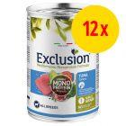 Sparepakke: 12 x 400 g Exclusion Mediterraneo Adult
