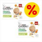 Sparepakke: 24 x 85 g Gourmet Nature's Creations Paté