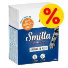 Sparepakke: 24 x 370 / 380 g Smilla Bidder
