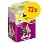 Sparepakke: 72 x 50 g Whiskas Fresh Menu