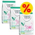 Sparepakke: 3 x 3 kg Concept for Life Veterinary Diet kattefoder