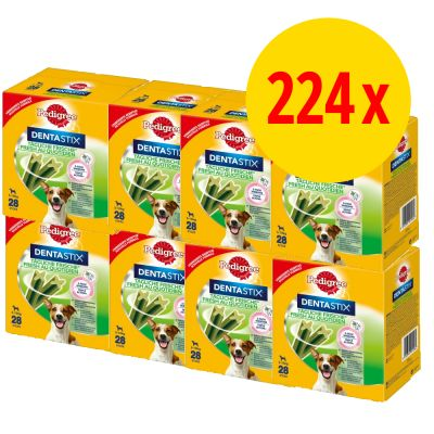 Sparepakke 224 x Pedigree Dentastix Fresh