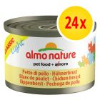 Sparpack: 24 x 50 g Almo Nature Classic Light