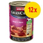 Sparpack: Animonda GranCarno Original Adult 12 x 400 g
