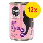 Sparpack Cosma Tha/Asia in Jelly 12 x 400 g