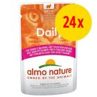 Sparpack: Almo Nature Daily Menu Pouch 24 x 70 g