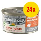 Sparpack: Almo Nature Holistic Maintenance 24 x 85 g