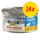 Sparpack: Almo Nature Holistic Specialised Nutrition 24 x 85 g