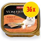 Sparpack: Animonda vom Feinsten Adult med gourmetfyllning 36 x 100 g