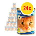 Sparpack: Bozita Feline våtfoder på burk 24 x 410 g