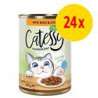Sparpack: Catessy bitar i sås eller gelé 24 x 400 g