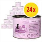 Sparpack: catz finefood på burk 24 x 200 g
