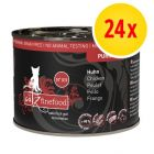 Sparpack: catz finefood Purrrr på burk 24 x 200 g