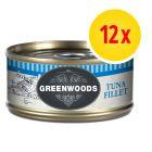Sparpack Greenwoods Adult våtfoder 12 x 70 g