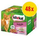 Sparpack Kitekat portionspåsar 48 x 100 g