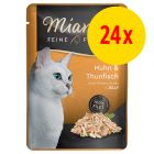 Sparpack: Miamor Fine Filets Pouch 24 x 100 g