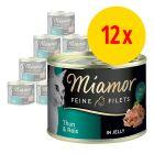 Sparpack: Miamor Fine Filets 12 x 185 g