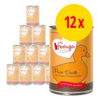 Sparpack: 12 x 410 g Feringa Pure Meat Menue
