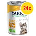 Sparpack: Yarrah Organic Chunks, 24 x 405 g