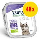Sparpack: Yarrah Organic Chunks 48 x 100 g