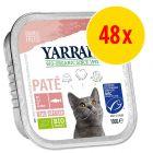 Sparpack: Yarrah Organic Paté, 48 x 100 g