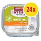 Sparpaket: 24 x 100 g Animonda Integra Protect Adult Intestinal Schale