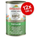 Sparpaket Almo Nature HFC Natural 12 x 140 g