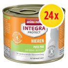 Sparpaket Animonda Integra Protect Adult Niere Dose 24 x 200 g
