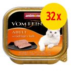 Sparpaket Animonda vom Feinsten Adult 32 x 100 g