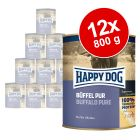 Sparpaket Happy Dog Pur 12 x 800 g