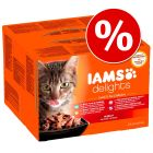 Sparpaket IAMS Delights 48 x 85 g