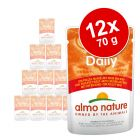 Sparpaket Almo Nature Daily Menu Pouch 12 x 70 g