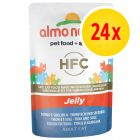Sparpaket Almo Nature HFC Jelly Pouch 24 x 55 g