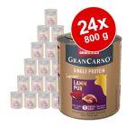 Sparpaket Animonda GranCarno Adult Single Protein Supreme 24 x 800 g