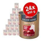 Sparpaket Animonda GranCarno Adult Single Protein 24 x 800 g