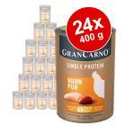 Sparpaket Animonda GranCarno Adult Single Protein 24 x 400 g