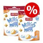 Sparpaket Animonda Milkies Knuspertaschen 4 x 120 g
