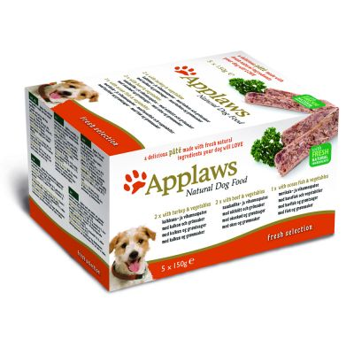 Sparpaket Applaws Dog Paté Multi-Pack Mix 20 x 150 g