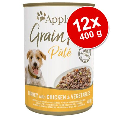 Sparpaket Applaws Grain Free Pate 12 x 400 g