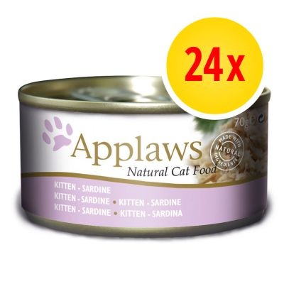 Sparpaket Applaws Kitten 24 x 70 g