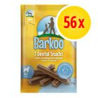 Sparpaket Barkoo Dental Snacks 56 Stück
