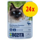 Sparpaket Bozita Häppchen in Soße Pouch 24 x 85 g