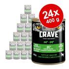 Sparpaket Crave Adult Hundefutter 24 x 400 g