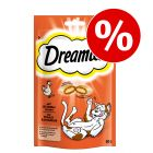 Sparpaket Dreamies Katzensnacks 55 / 60 / 180 g