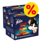 """Sparpaket Felix """"Doppelt lecker - so gut wie es aussieht"""" 48 x 85 g"""