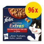 """Sparpaket Felix """"Sensations Extra"""" 96 x 85 g"""