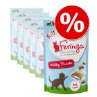 Sparpaket: Feringa Kitten Milky Snacks 6 x 30 g