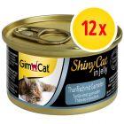 Sparpaket GimCat ShinyCat Jelly 12 x 70 g
